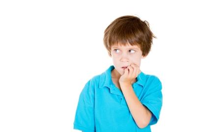 Anxious kid