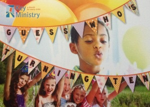 Key Ministry Birthday Card