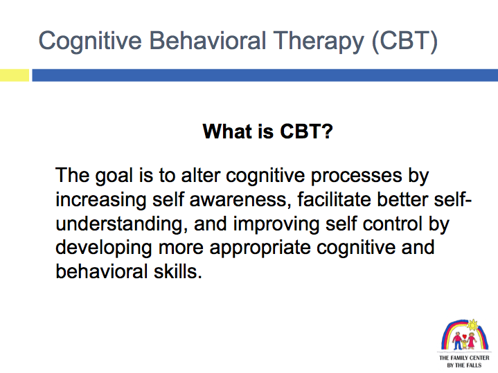 cognitive vs behavioural