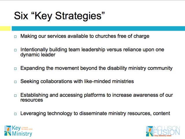 Six Key Strategies