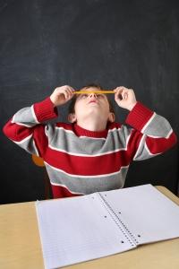 ADHD pencil nose