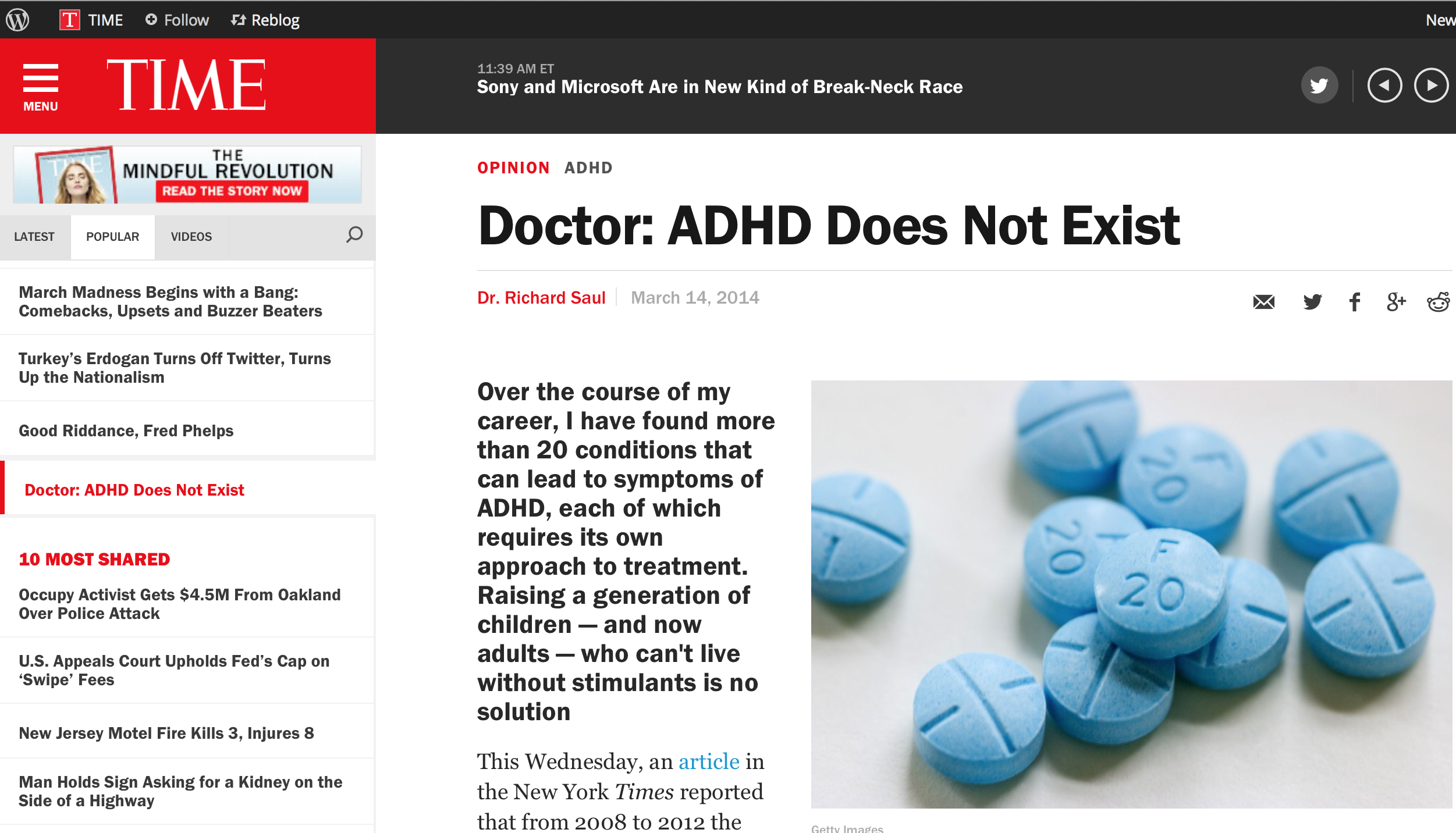 Anti-depressants and ADHD meds worse than no medication for most patients