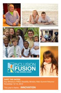 Inclusion Fusion 2014