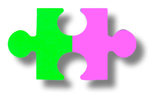 Pink Puzzle Pieces