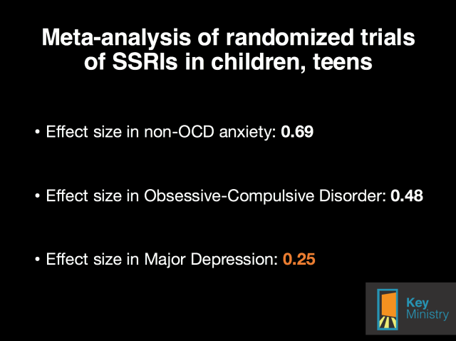 Bridge antidepressant slide
